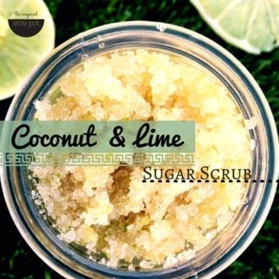 Coconut & Lime Scrub