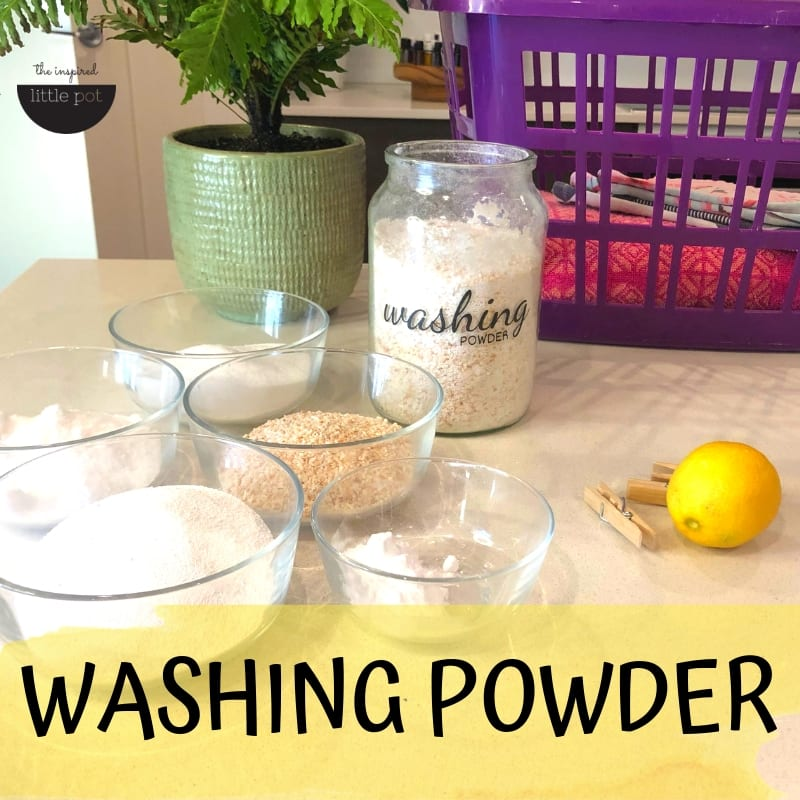 Washing Powder | The Inspired Little Pot
