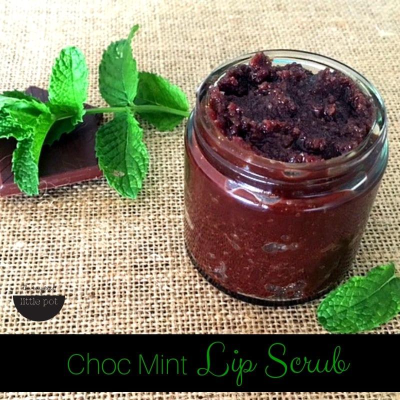 Choc Mint Lip Scrub