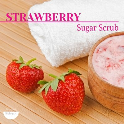 Strawberry Sugar Scrub