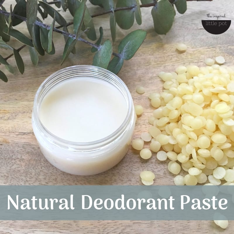 Natural Deodorant Paste DIY | The Inspired Little Pot
