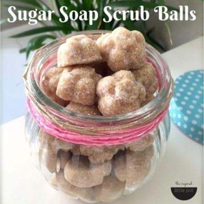 Sugar Soap Scrub Balls