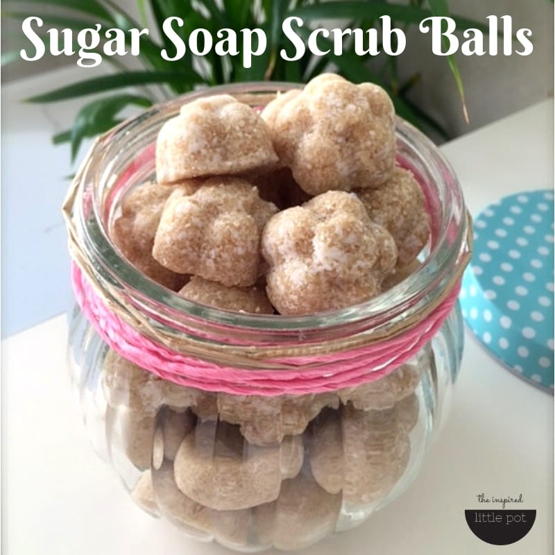 Sugar Soap Scrub Balls