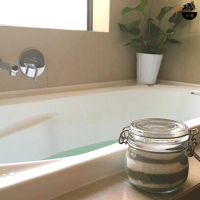 Bath Salts with Epsom & Spirulina