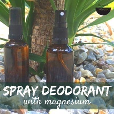 Spray Deodorant with Magnesium