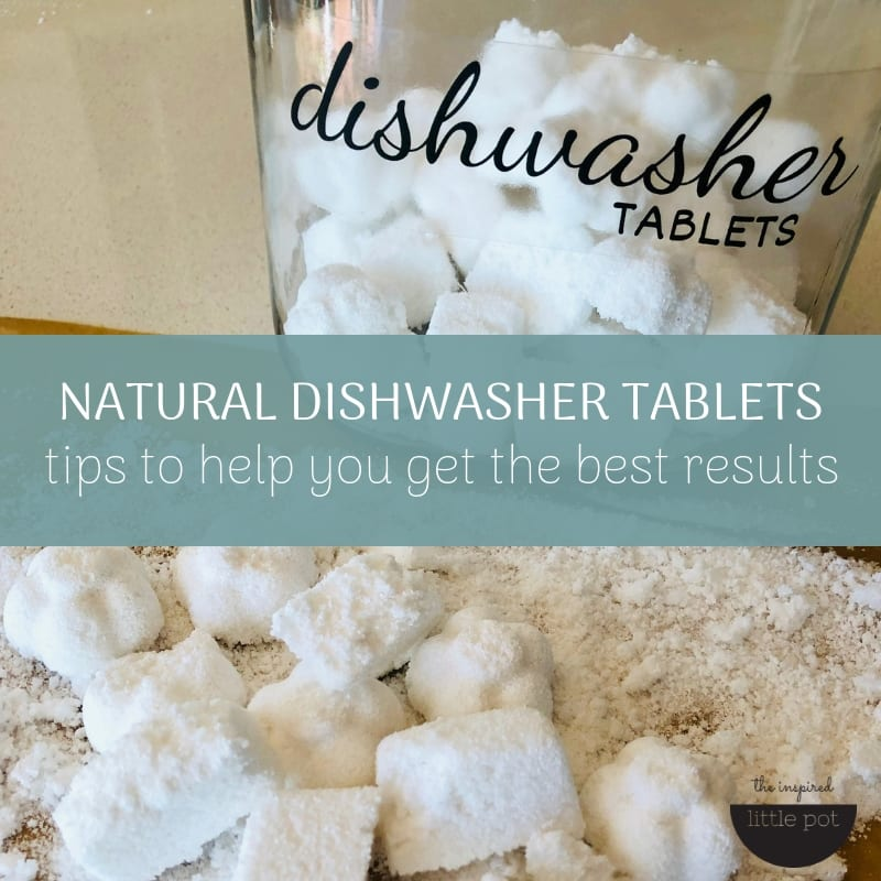 Dishwasher tablets. Tips to help you get the best results