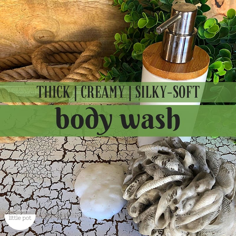 Creamy Body Wash Natural Hand and Shower Wash