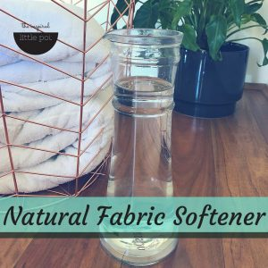Natural Fabric Softener | The Inspired Little Pot