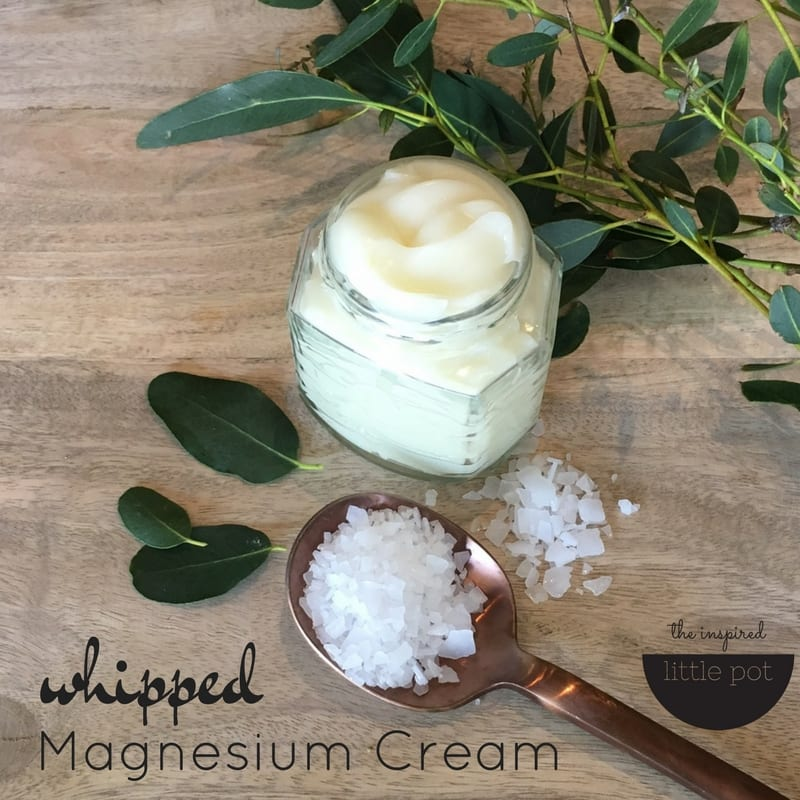 Whipped Magnesium Cream