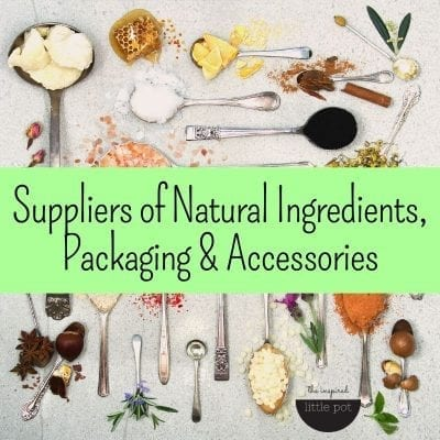 Suppliers Of Natural Ingredients, Packaging & Accessories