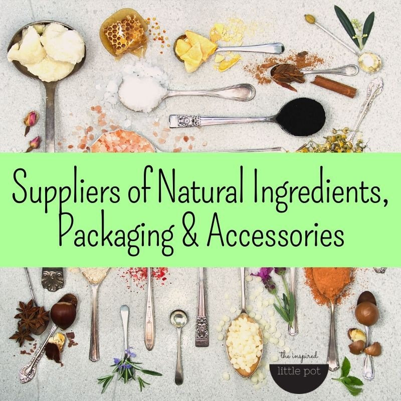 DIY Advice - Natural DIY Ingredients Suppliers | The Inspired Little Pot