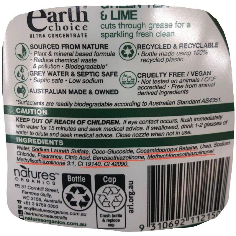 Copy of earth choice dishwashing liquid NEW