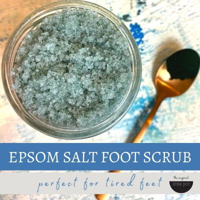 Epsom Salt Foot Scrub