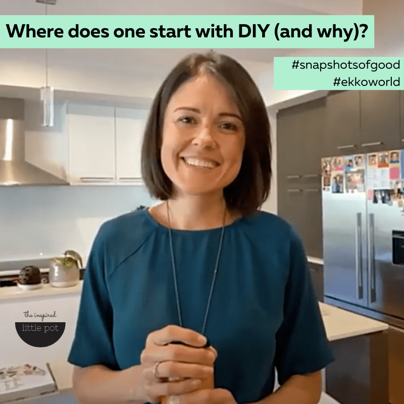 Where does one start with DIY (and why)?