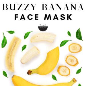 Buzzy Banana Face Mask