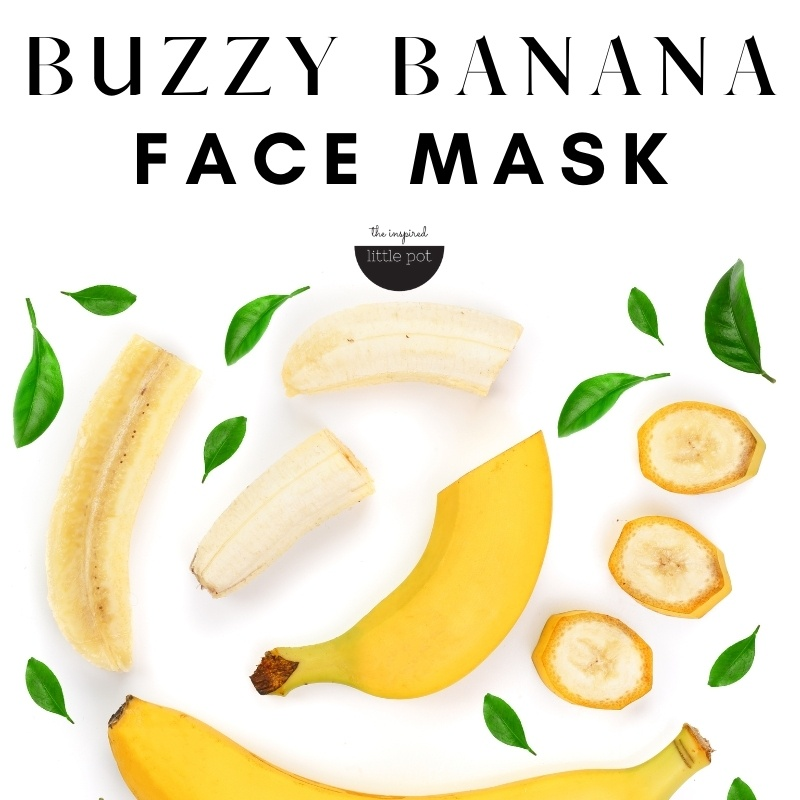 Buzzy Banana Face Mask
