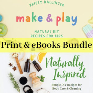 Make & Play & Naturally Inspired - Product Image Print & ebook Bundle
