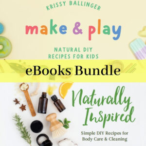 Make & Play & Naturally Inspired - Product Image ebook Bundle