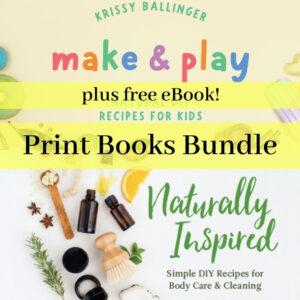 Make & Play & Naturally Inspired - Product Image print book Bundle