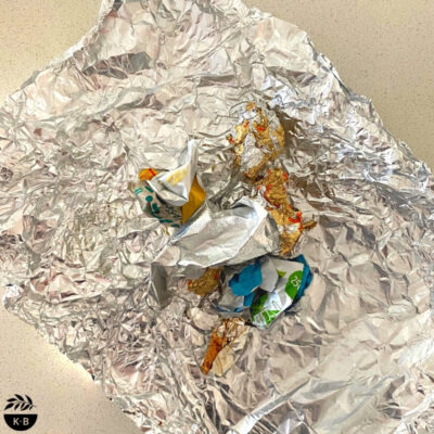 Recycling foil – do it right